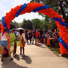 The Student Involvement Fair is happening on the Quad!