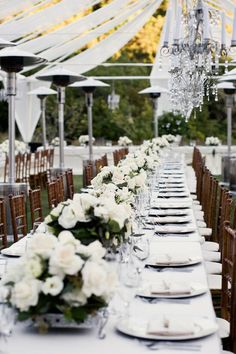 • tablescapes • white on white •