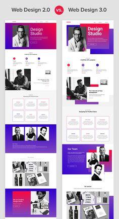 30 Web Design 2 0 Vs 3 0 Images Web Design Web Layout Design Web Design Quotes