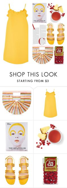 """""""The Art Of Color"""" by emcf3548 ❤ liked on Polyvore featuring Cult Gaia, Topshop and Rizzoli Publishing"""
