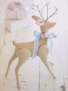 Deer aus dem Buch Tilda Tone Finnanger «Tildas Vintereventyr»