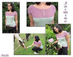 Jasmine I Nicki's Kreativseite Nach einer Anleitung von Kim Hargreaves Jasmine, Crochet Necklace, Knitting, Tutorials, Tricot, Breien, Stricken, Weaving, Knits