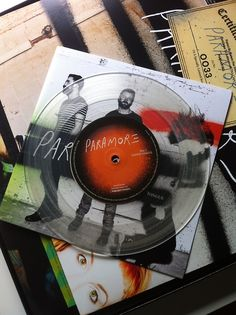 Paramore Vinyl Record. If you want to customize a good-looking vinyl record and vinyl packaging, visit www.unifiedmanufacturing.com.