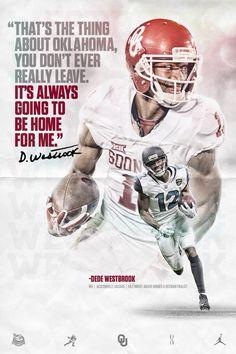 Oklahoma Sooners Football, Ou Football, College Football, Football Helmets, Football Posters, Dede Westbrook, Boomer Sooner, Sport Inspiration, Jacksonville Jaguars