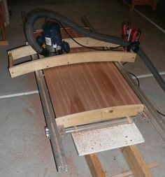 Convex / concave surface router jig - by Viktor @ LumberJocks.com ~ woodworking community