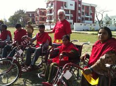 #India http://www.facebook.com/AlewijnseBV/notes Alewijnse donated a few #wheelchairs to #polio patients