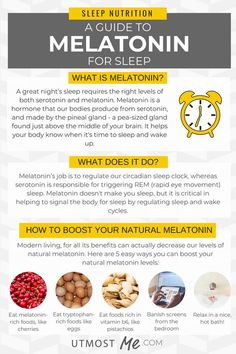 Melatonin Sleep Aid – Does It Work? You'll find 5 easy tips to boost your melatonin levels for a better night's sleep including the benefits of natural melatonin supplements and the best food sources of melatonin to help with insomnia. Calendula Benefits, Matcha Benefits, Herbal Remedies, Health Remedies, Health And Wellness, Health Tips, Women's Health, Mental Health, Stop Eating