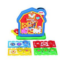 Fisher Price Barnyard Bingo Game. This game is great on many fronts...speech development, social interaction, requesting, matching, color matching...
