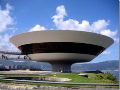 The Niteroi- Museum of Contemporary Art: 17 Strange and Amazing Buildings