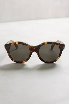 Mona Cheetah Sunglasses by Super by Retrosuperfuture #anthrofave #anthropologie