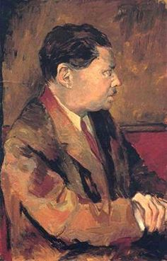 Renato Guttuso - Portrait of Eugenio Montale, 1939