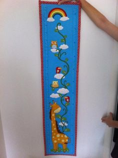 Quilted growth chart | Craftsy