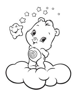 Resultado de imagem para Care Bears Coloring Pages | Coloring pages ...