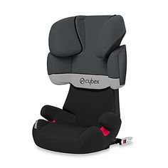 A top-rated booster seat in Europe, the Cybex Solution X-Fix places your child in the lap of safety and comfort. Seat back offers 11 different height adjustments to keep occupant's head, neck and shoulders well protected in a side impact collision.