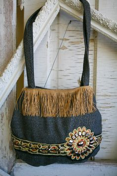 Jeweled Handmade Handbag by VintageGardensKS on Etsy