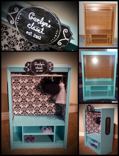 Dress-up Closet - Caelyn's closet from start to finish!