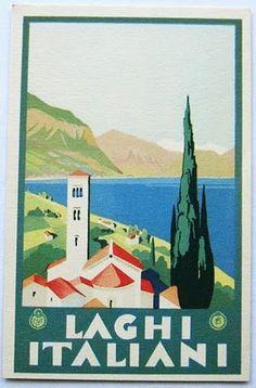 Laghi Italiani print.