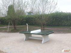 Pingpongtafel Afgerond Groen bij Basisschool Het Veer in Duiven