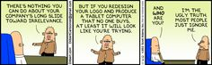 The Dilbert Strip for November 6, 2012 - Ugly Truth