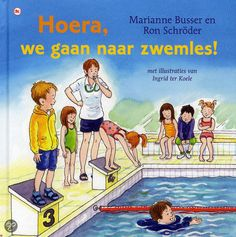 Hoera, we gaan naar zwemles Family Guy, Comic Books, Swimming, School, Drawings, Sport, Crafts, Fictional Characters, Animaux