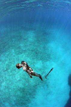Spearfishing by Kostas K, via 500px