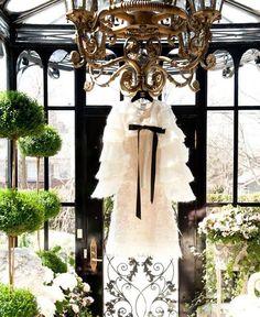 Sun room / romantic dress
