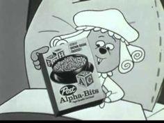 The Chipmunks for  Post Alpha-Bits Cereal (c. 1960s)