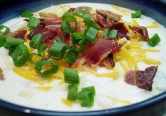 Cheesy Baked Potato & Bacon Soup