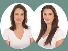 before after hair styles with clip in extensions Clip In Extensions, Extensions Before After, Before After Hair, Hair Pictures, Amber, Hair Styles, Beauty, Photos, Hairdresser