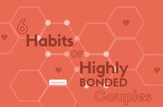 Could you and your husband use some bonding time? Here are 6 habits of highly bonded couples.