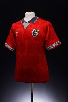 England Football Shirt (Away, 1989-1992)