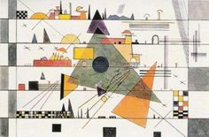 Wassily Kandinsky - Horizontale, 1924 - #art