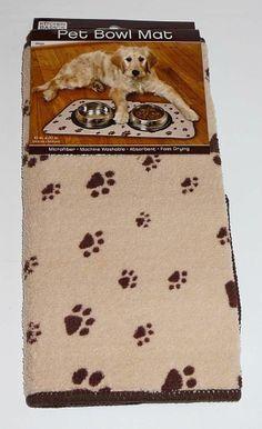 พรมสำหรับวางถาดอาหารและถาดน้ำของสัตว์เลี้ยง Price:US $13.95 http://www.ebay.com/itm/like/371037785894?lpid=82&item=371037785894&lgeo=1&vectorid=229466