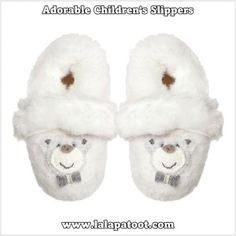864fa6a3655bde Adorable Children s Wool Slippers  Visit us at www.lalapatoot.com   lalapatoot