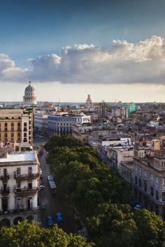 Cuba, Havana, Capitolio Nacional by Walter Bibikow