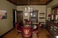 Meridian Kessler, Park Ave. dining room.