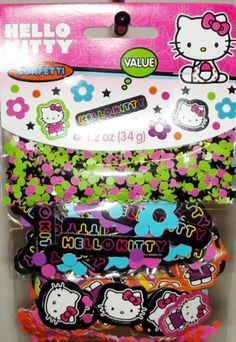 Hello Kitty Neon Tween Confetti Value Pack 3 types >>> Want to know more, click on the image.Note:It is affiliate link to Amazon.