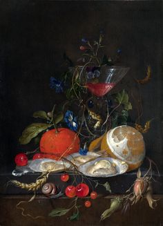 Still life with oysters (1664-1665) (London, Nat. Gallery).jpg (3041×4226)