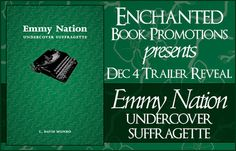 Book-o-Craze: Book Trailer Reveal -- Emmy Nation: Undercover Suf...