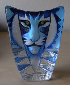 BLUE TIGER by MATS JONASSON of Sweden.