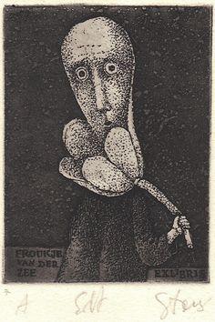 Stasys Eidrigevicius, Ex Libris