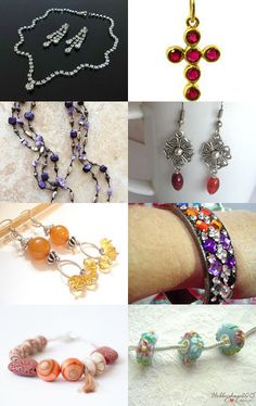 Jewelry by Lisa Gossman-Steeves on Etsy--Pinned+with+TreasuryPin.com