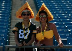 Green Bay Packers fans during the game against the Jacksonville Jaguars at EverBank Field on Sept. 11, 2016 in Jacksonville.