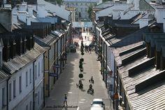 Ulica Grodzka.   Grodzka Str. #streetview #oldtown #zamosc #zamość #unesco #lubelskie #roofs #polska #poland #visitpoland #seeuinpoland