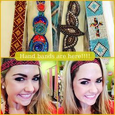 If you're in JACKSONVILLE stop in The Pink Nickel to get these great beaded headbands! #Gameday #Beachday #Festival #GoGata #FSU