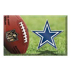 Dallas Cowboys NFL Scraper Doormat (19x30)