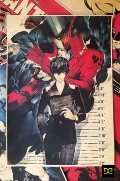 Persona5 Joker Start Game Persona 5 Poster Wall Painting Decorative Mural