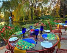 RATs Restaurant at Grounds For Sculpture~Monet's Pond and interesting artistry around every bend~Trenton, NJ