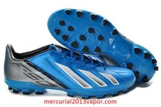 Adidas F50 TRX AG Soccer Cleats 2013 Blue White Black