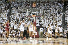 The MSU vs South Carolina game, Feb. 5. The Lady Bulldogs won to improve to 24-0.